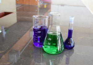 Beakers of Liquids